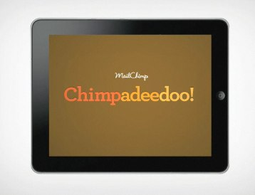 Tools We Love: Chimpadeedoo by Mailchimp